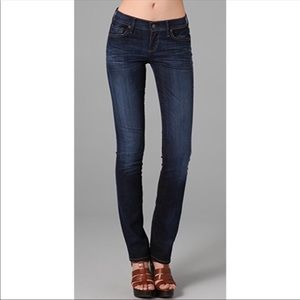Citizen of humanity Ava low rise-straight leg jean
